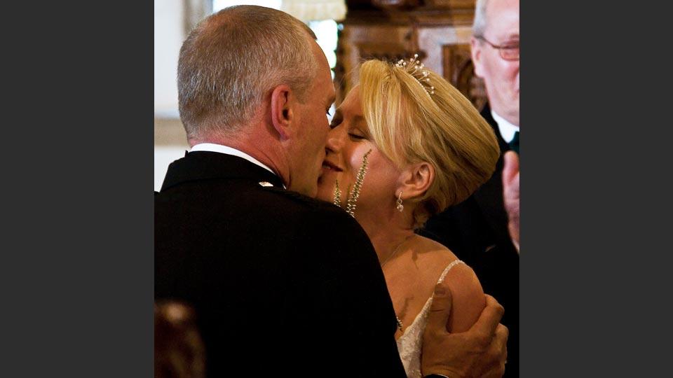 Mike and Suzie's wedding at Wembury church.