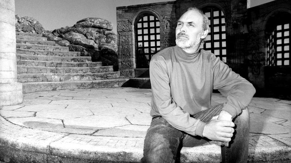 A commercial location portrait of Mike Jackson at the Minack Theatre.