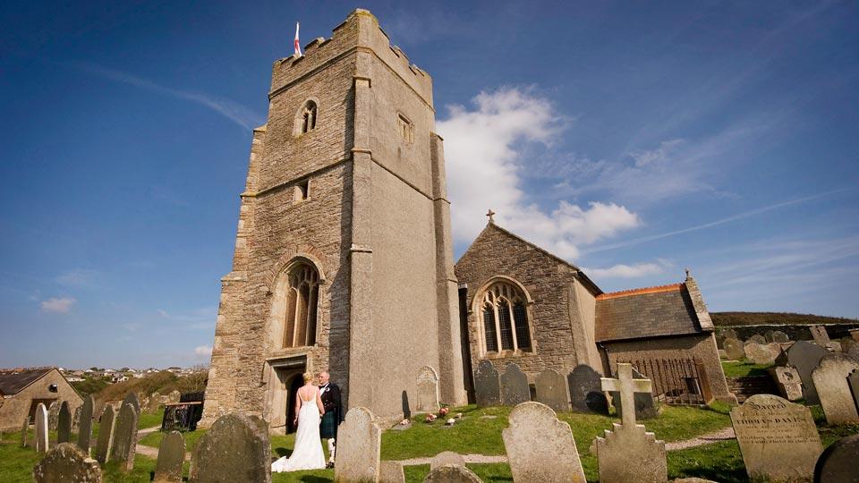 Wembury church.