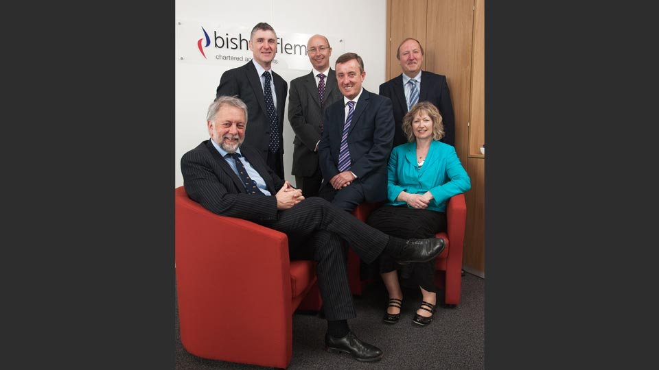 Main partners at Bishop Fleming's Plymouth office.